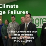 NDP Climate Change Failures