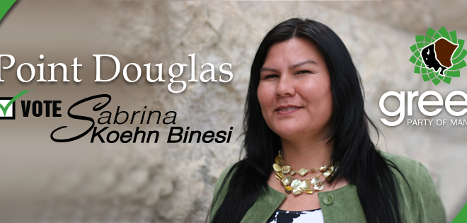 Meet our Candidate for Point Douglas: Sabrina Koehn Binesi