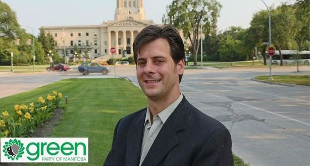 James Beddome, Leader of the Green Party of Manitoba