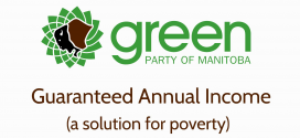 Greens would reduce poverty with a Guaranteed Annual Income