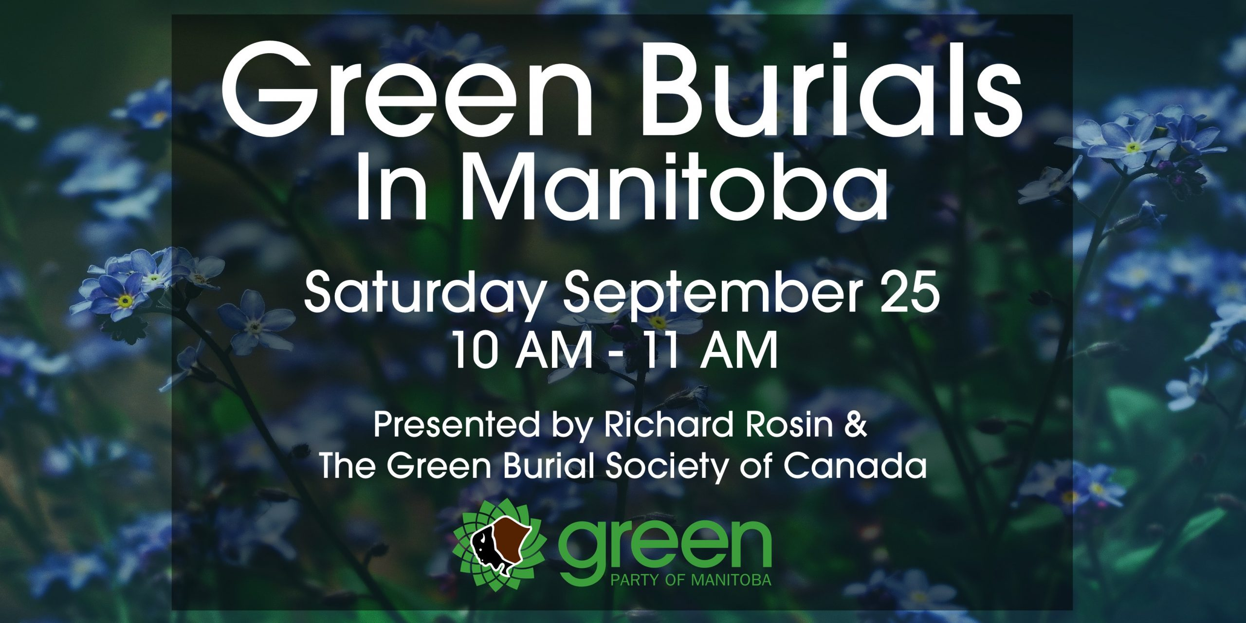 Green Burials in Manitoba Poster