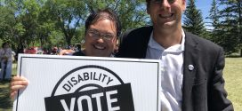 James Beddome at the 2019 Launch of the Disability Matters Vote Campaign