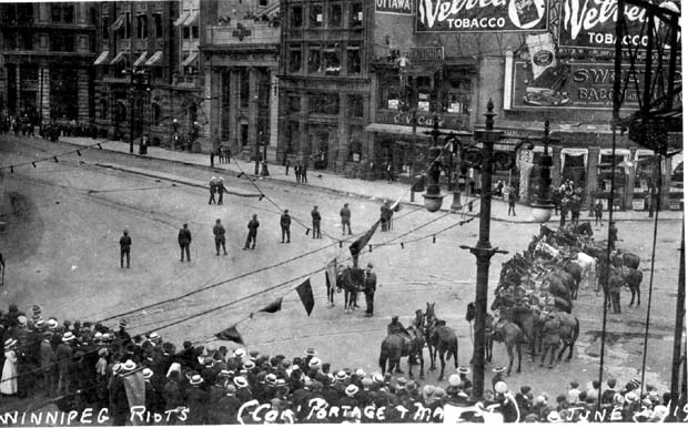 Remembering the Winnipeg General Strike 100 years later: May Day message from James Beddome