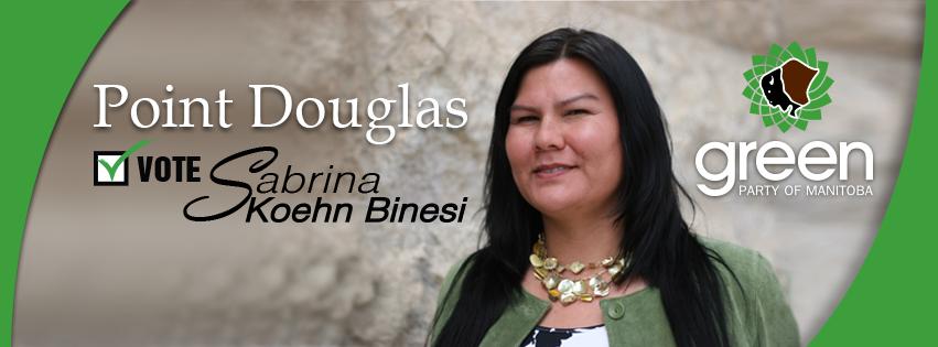 Meet our Candidate for Point Douglas: Sabrina Koehn Binesi