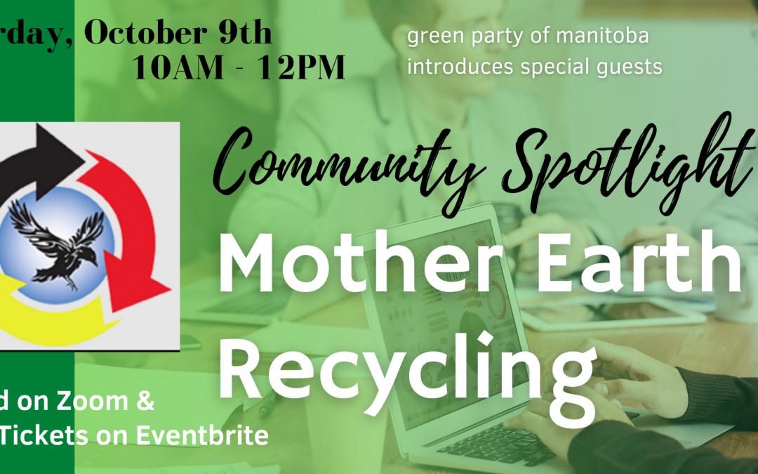 Mother Earth Recycling Community Spotlight
